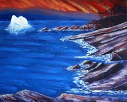 """The East Coast Trail, Oil on canvas, 16""""x20"""", SOLD"""