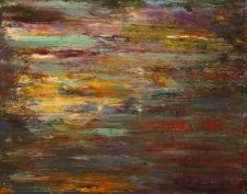 "Reflection, Acrylic on canvas, 16""x20"""