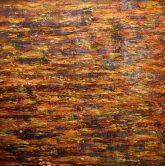 """Tenacious Curiosity, Acrylic on canvas, 40""""x40"""" - SOLD"""