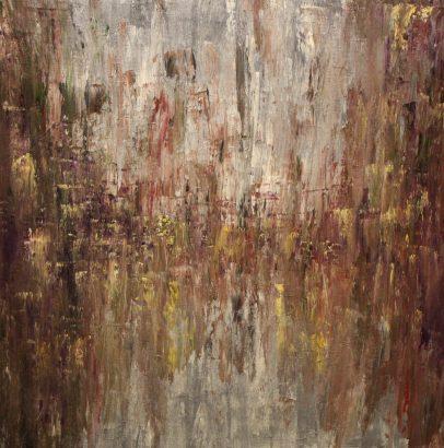 "Untethered, Acrylic on canvas, 24""x24"""