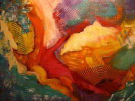 """The Cloud Dream, Acrylic on canvas, 30""""x40"""""""