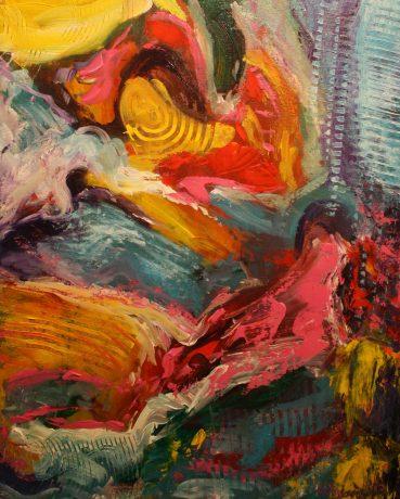 """Freedom, Acylic on canvas, 30""""x24"""""""